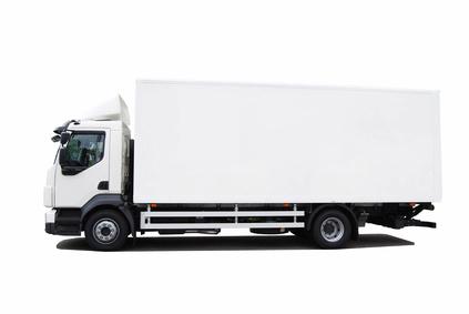 Hur mycket grus går det på en lastbil